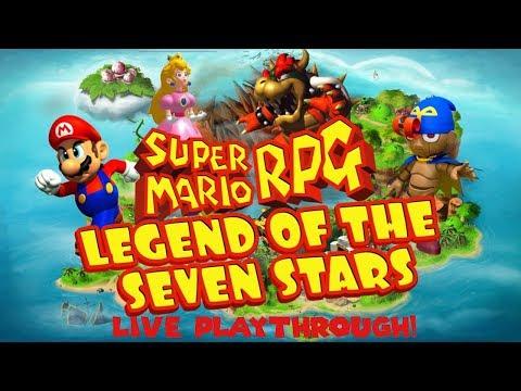 Super Mario RPG Legend Of The Seven Stars LIVE Mini-Playthrough! (SNES Classic Edition)