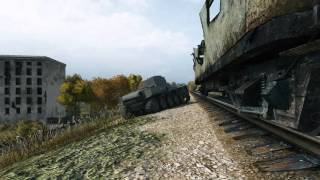 WOT Arty luck   shot between the track and the wagon Lorraine39 L'AM 17