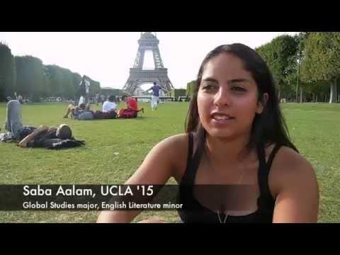 UCLA Travel Study - Global Studies in Paris 2014