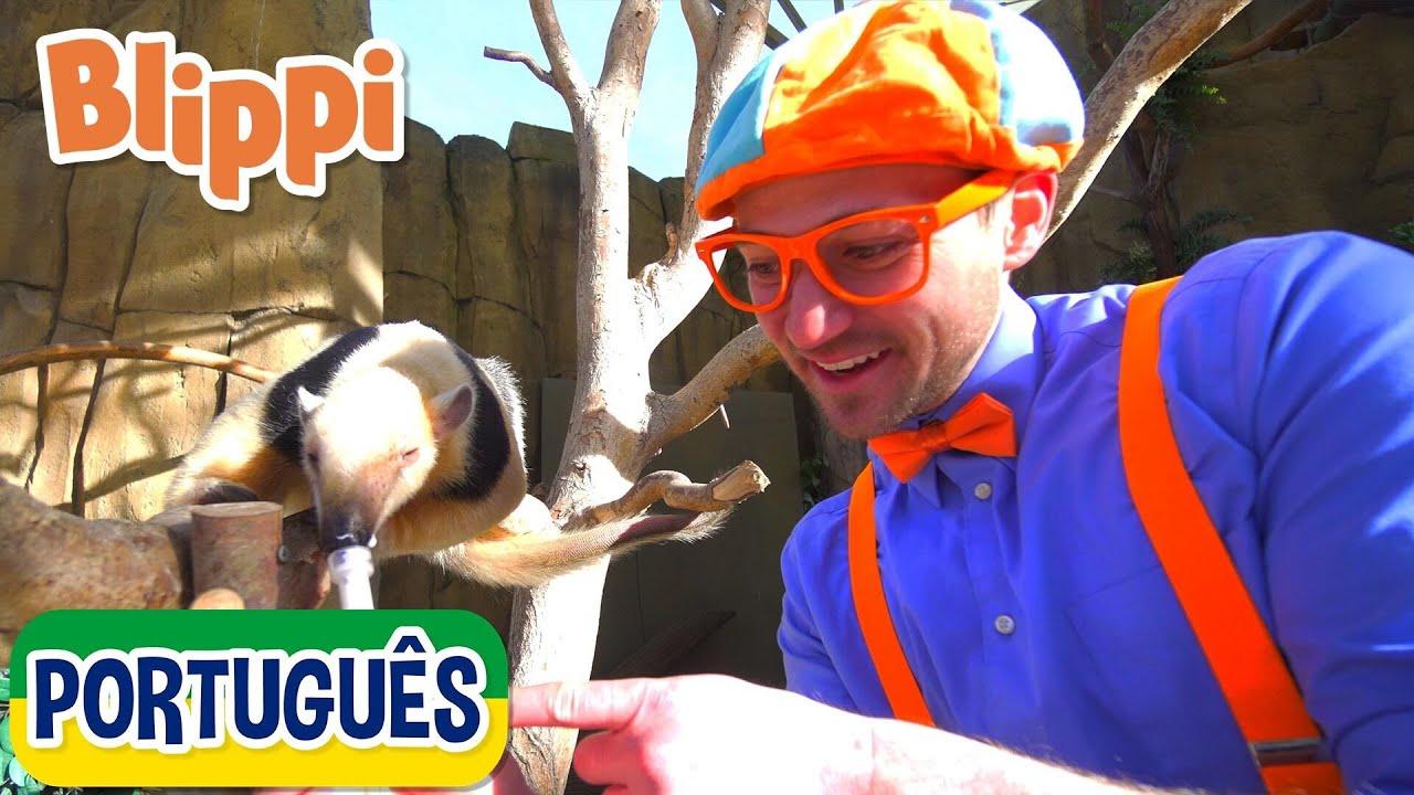 Blippi Passeia em um Zoológico | +mais Vídeos Educativos para Crianças | As Aventuras de Blippi