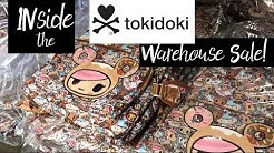 Inside the Tokidoki Sample Sale Warehouse in Los Angeles, CA