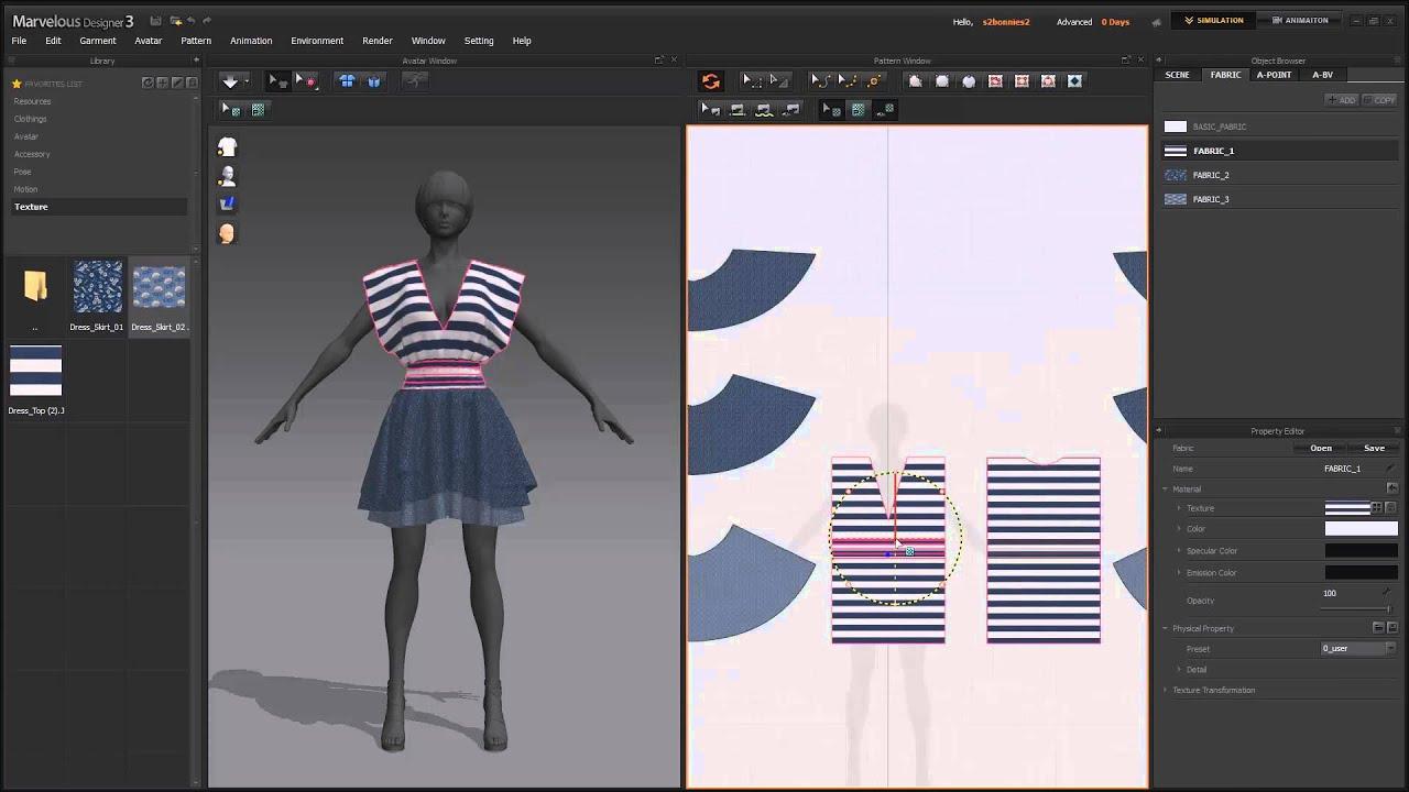 [MD3] Lesson4. Designating Texture 'Applying Fabrics ...