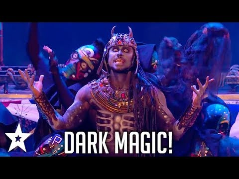 Magus Utopia Brings Our Fears To Life!   Britain's Got Talent   Got Talent Global