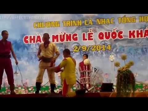 Minh Tân biểu diễn xiếc hay tại suối tiên 2/9/2014 (phần 2)