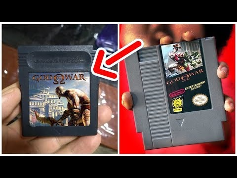 AS VERSÕES SECRETAS DO GOD OF WAR (Nintendo, Game Boy, Mobile E Java)