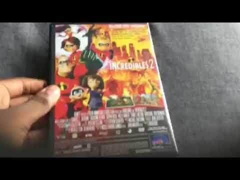 Incredibles 2 DVD Unboxing