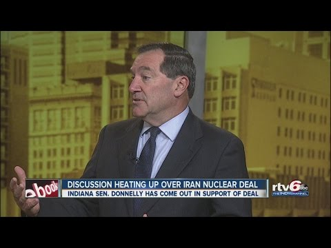 Indiana Sen. Joe Donnelly discusses Iran deal