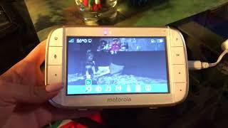 Видеоняня Motorola mbp855: обзор и отзыв