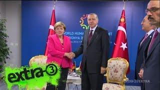extra 3 Extra: Merkel (mal wieder) in der Türkei