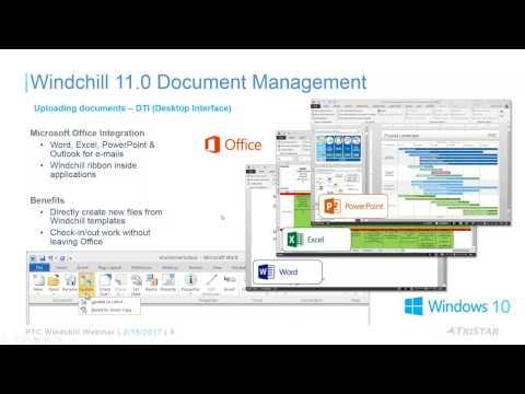 Webinar Replay: PTC Windchill 11 Document Management