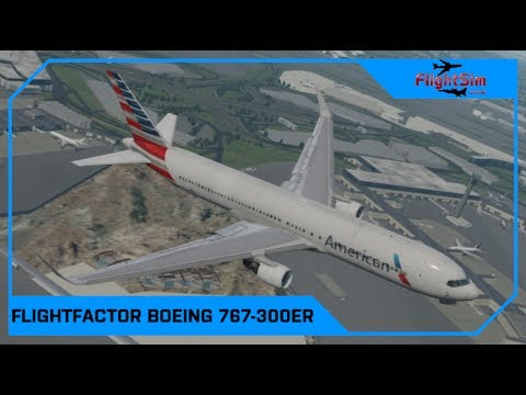 VMAX Flight Factor Boeing 767 300 ER Professional Review Drawyah