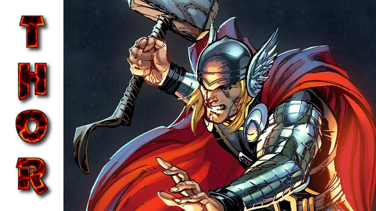 Thor Desenhos Para Colorir Youtube