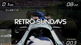 THE OLD HOCKENHEIMRING | Formula One 2001 (PS2) |  Retro Sundays #14