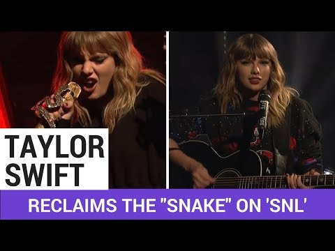 "Taylor Swift Reclaims The ""Snake"" On..."