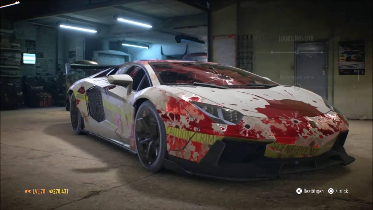 Need For Speed 2015 Lamborghini Aventador Tuning Youtube