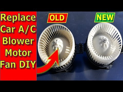 Replace Car AC Blower Motor DIY Lexus, Toyota, Honda, More