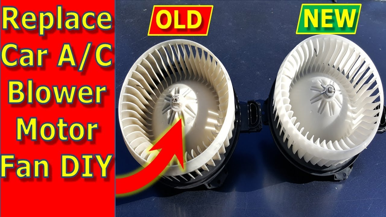 How To Repair Replace Car Ac Blower Motor Lexus Toyota Others Furnace Replacement Repalcement Parts And Diagram