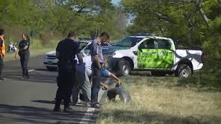 Automovilista colisiono , mato y huyo del lugar