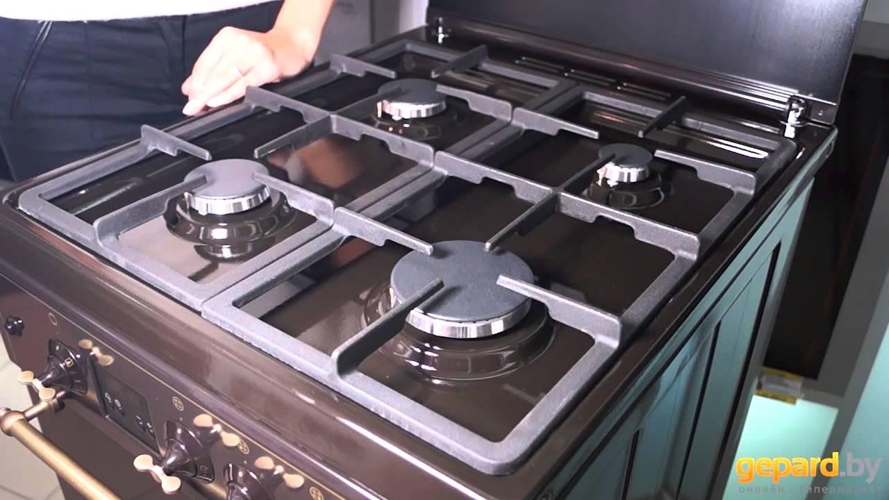 Обзор комбинированной плиты Hansa FCMW 53000 - YouTube