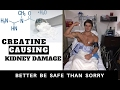 Creatine and Kidney Damage ?