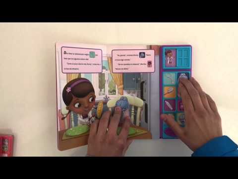 Libro Infantil Doctora Juguete cepillar dientes