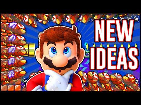 Top 8 Underwater Level Ideas In Mario Maker 2!