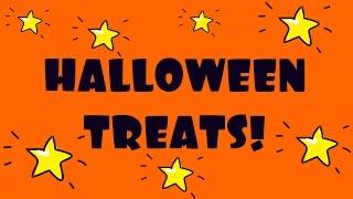 Halloween Treats DIY! Treats for Halloween Recipes & Halloween treats for kids! Halloween recipes