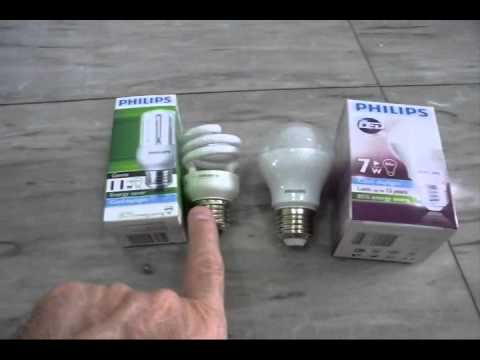 LED vs CFL Light Bulbs
