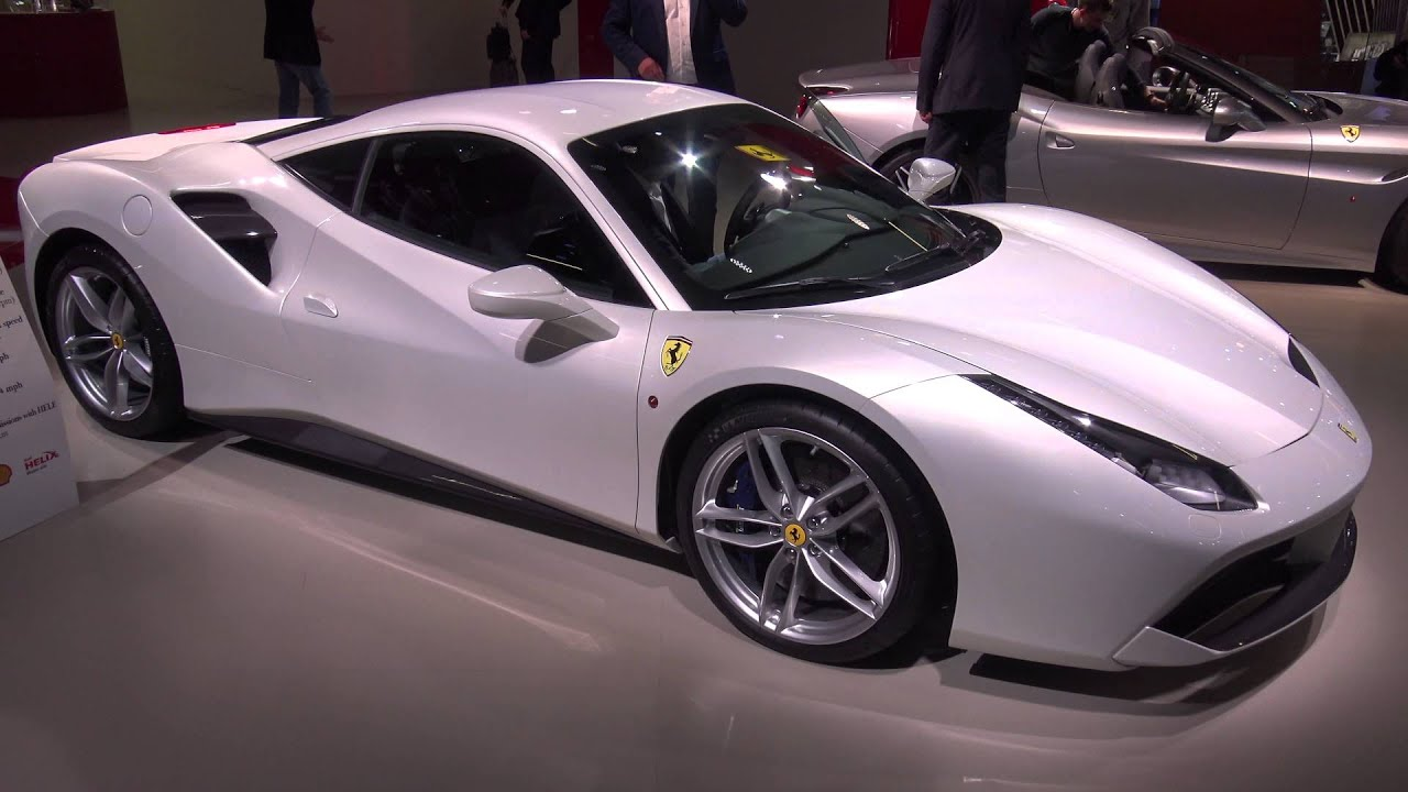 4k Bianco Fuji Ferrari 488 Gtb With Carbonfibre Options
