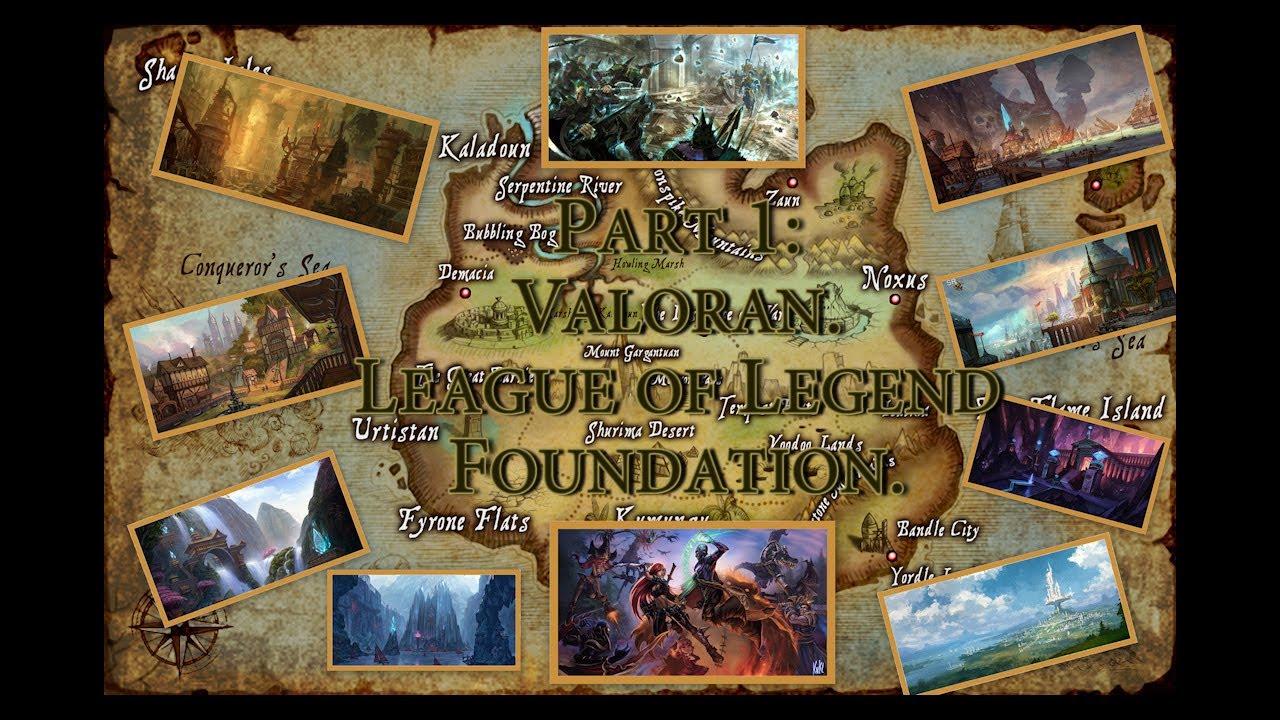 the history of runeterra part 1 youtube