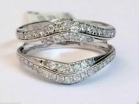 14k-white-gold-pave-set-solitaire-enhancer-1/2ct-diamond-ring-guard-wrap-jacket