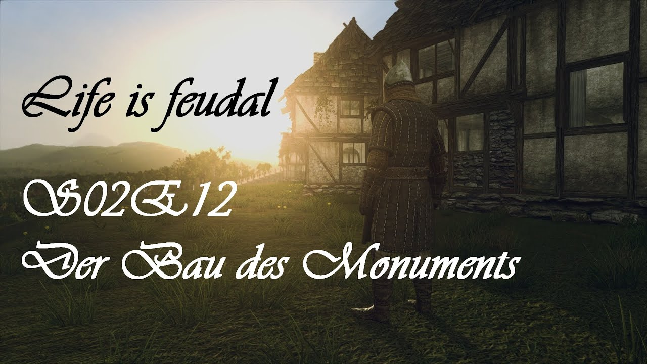 life is feudal s02e12 der bau des monuments hd let 39 s. Black Bedroom Furniture Sets. Home Design Ideas