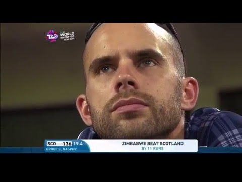 ICC WT20 Scotland vs Zimbabwe Highlights