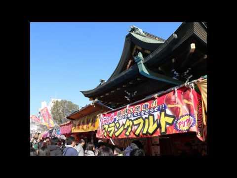 大阪天満宮「天満の天神さん」への初詣。写真をスライドショーにしたので参考にどうぞ。