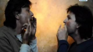 Maultrommel-Duett: Sven Otto und Clemens Voigt