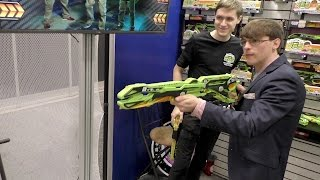 Precision RBS (Rubber Band System) Blasters, Talos, Chiron, Hyperion - Toy Fair 2016
