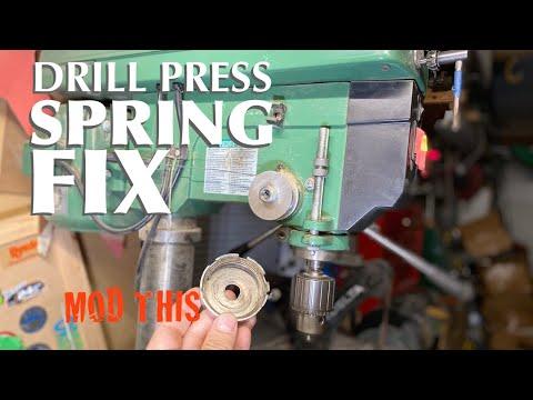 drill-press-return-spring-fix-/-modification