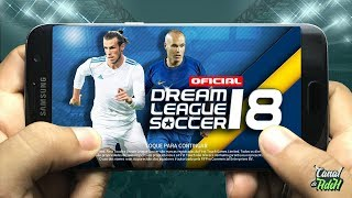 Saiuu! Dream League Soccer 18 Oficial - Finalmente Conferindo O Game (Pt-Br)