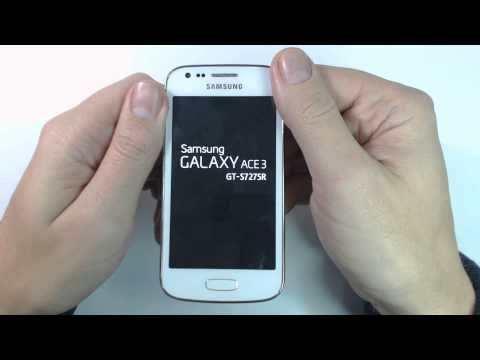 Samsung Galaxy Ace 3 S7275R - How to unlock pin lock by hard reset