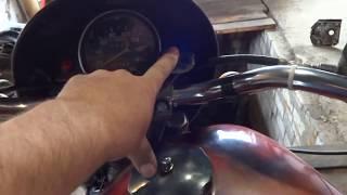Мотоцикл т 40 . что было и что стало