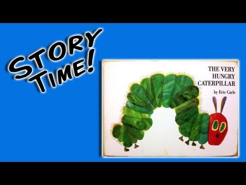 """The Very Hungry Caterpillar"" by Eric Carle (books for preschoolers)"