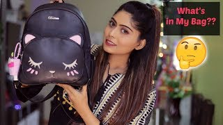 What's In My Bag?? | 2018 | Rinkal Soni