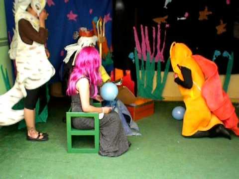 Teatro Infantil Creativa Jardín Parvulario - YouTube