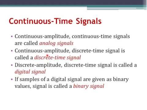 Signals and Systems Ch1: Continuous-Time Signals (Arabic Narration)