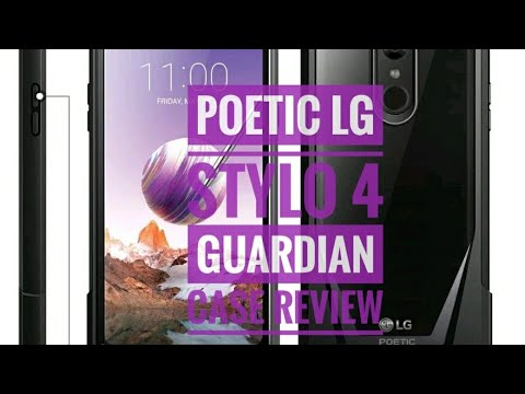 Poetic lg stylo 4 guardian case review