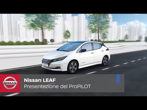 Nuova Nissan LEAF. Presentazione del ProPILOT