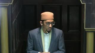 Khutba Ustadh Ismail Ibn Ali 01062017