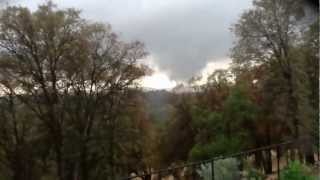 Grass Valley California tornado 2012, Lake of the Pines
