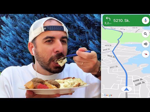 Harita Ne Yiyeceğimize Karar Verdi