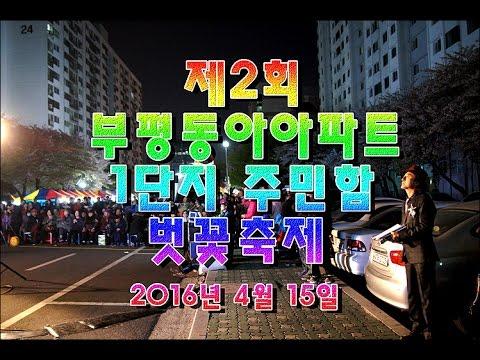 제2회 부평동아아파트1단지 주민화합 벚꽃축제